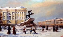 Санкт-Петербург глазами Ирины Александриной