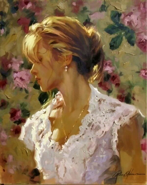 Richard S. Johnson-художник,воспевающий Красоту Женщины