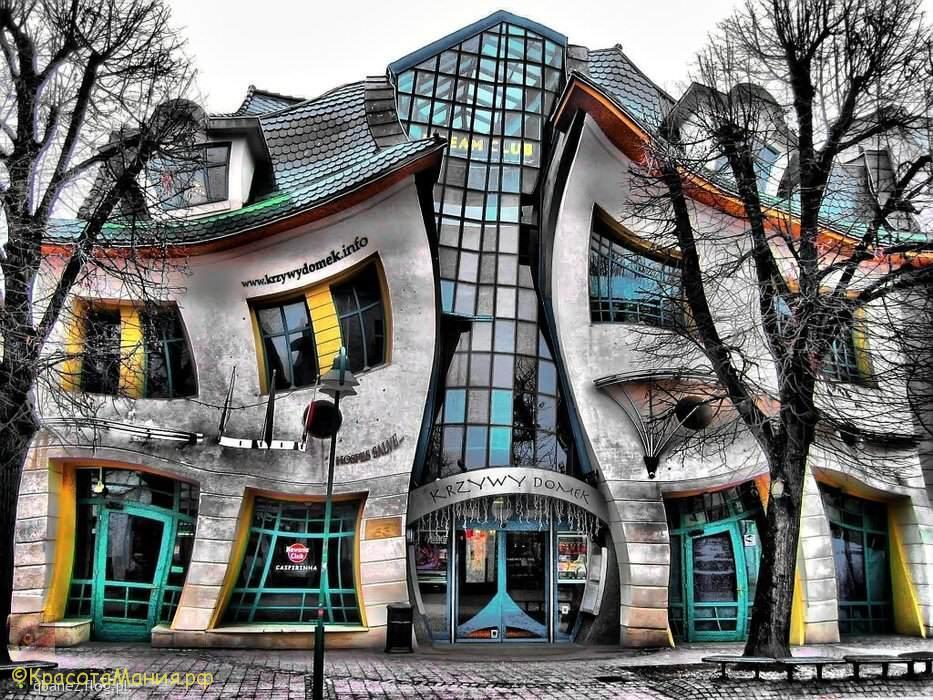 Кривой домик в Сопоте
