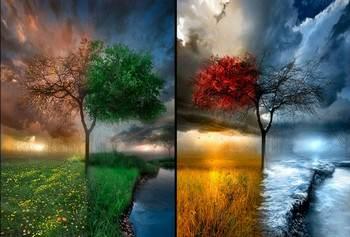 времена года красивые картинки