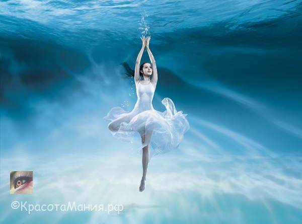 Подводные танцы-красивое видео и музыка