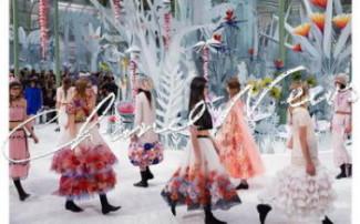Неделя высокой моды в Париже: показ Chanel