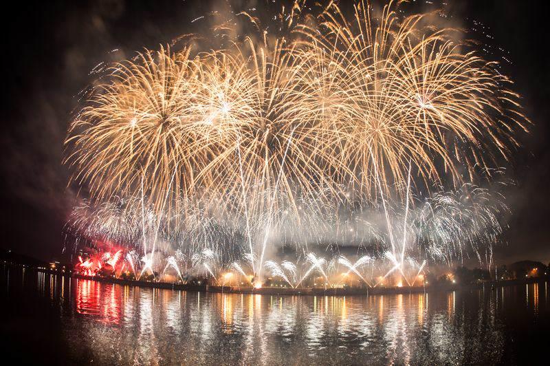 Международный фестиваль фейерверков в Москве