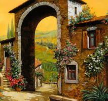 Под солнцем Италии-картины Guido Borelli