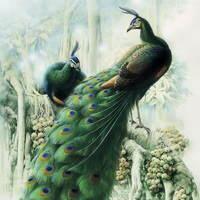 Птицы дивные от Zeng Xiao Lian
