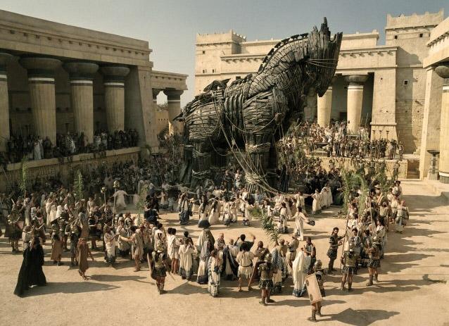 Конь троянский в городе