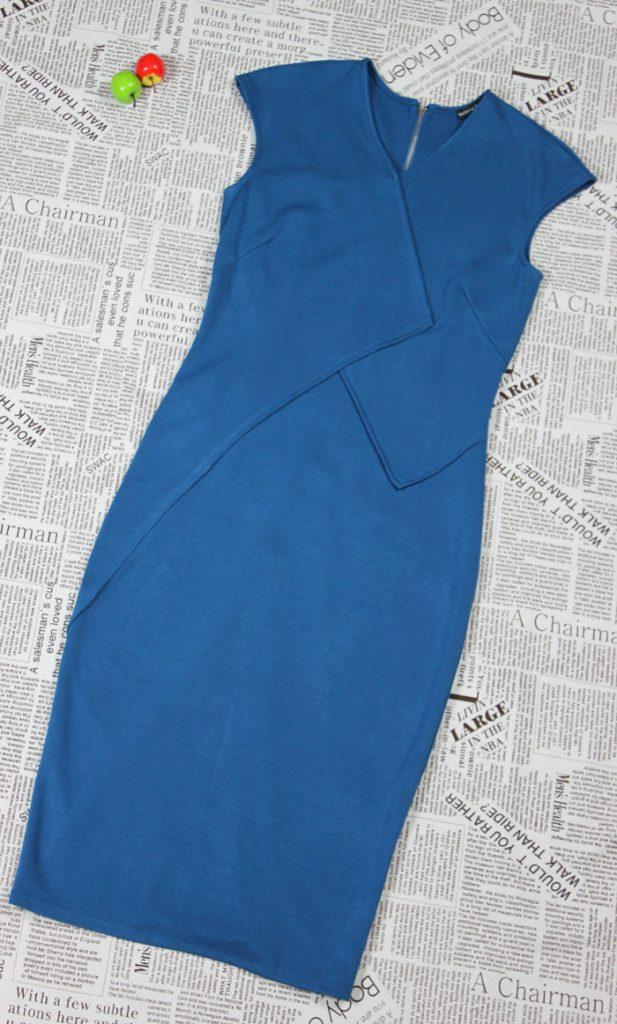 Как быстро сшить трикотажное платье своими руками 67