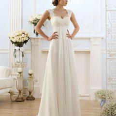 Достоинства свадебных платьев прямого фасона