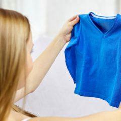 Как восстановить цвет одежды?