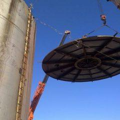 Применение вертикальных резервуаров для нефтепродуктов.