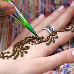 Какие товары нужны для рисования мехенди?