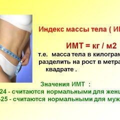Что такое индекс массы тела?