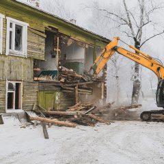 Кто сможет разобрать старый дом?