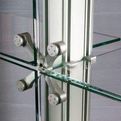 Какая нужна фурнитура для стекла?